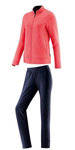 Schneider Sportswear Doty damespak, peachroze/donkerblauw, 18