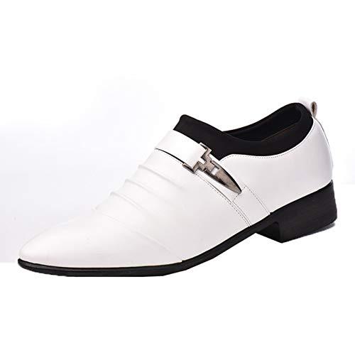 Zapatos de Negocios para Hombre, Zapatos de Trabajo con Punta Puntiaguda de...