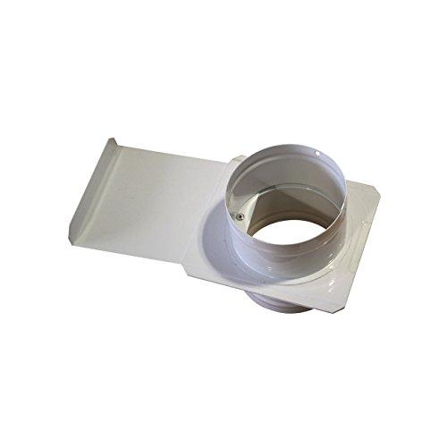 Holzmann Zwischenstück mit Schieber Ø 100 mm oder Ø 120 mm Durchmesser: 120 mm