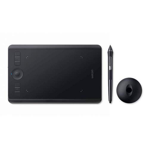 Wacom Intuos Pro Digital Graphic Drawing Tablet for Mac or PC, Small (PTH460K0A) New Model (Renewed)