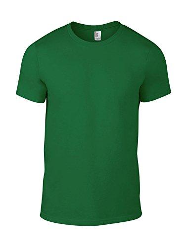 Anvil Men's Lightweight Tee T-Shirt, Vert, (Brand Size: XX-Large) Homme