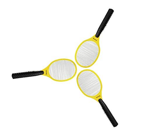 3 Stück Foetsie LC-11 elektrischer Fliegenfänger/Mückenbekämpfer Schwarz/Gelb