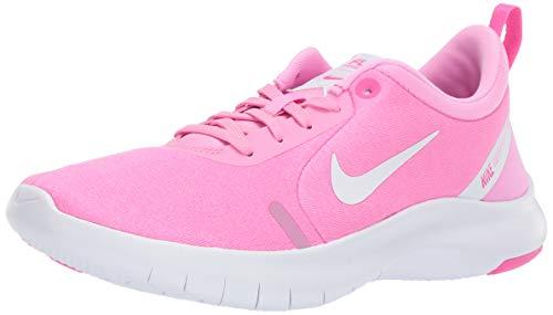 Nike Wmns Flex Experience RN 8, Scarpe da Atletica Leggera Donna, Multicolore (Psychic Pink/White/Laser Fuchsia 000), 41 EU