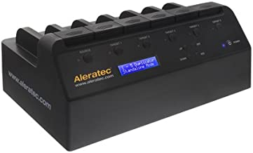Aleratec 1:5 HDD Copy Cruiser Advanced - Hard Disk Drive Duplicator and HDD Sanitizer