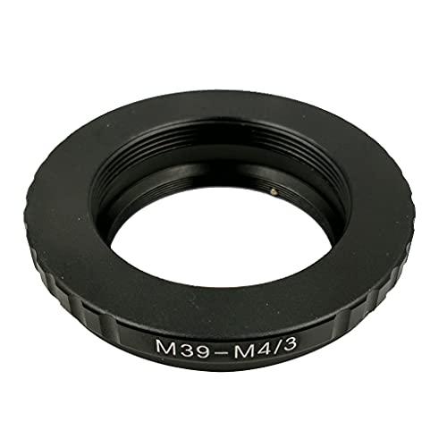 MERIGLARE Adaptador L39- / 3 para M39 L39 a Lente de Montaje Micro Cuatro Tercios