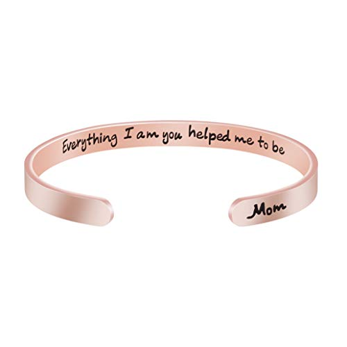 Motivational Cuff Bangle Bracelet