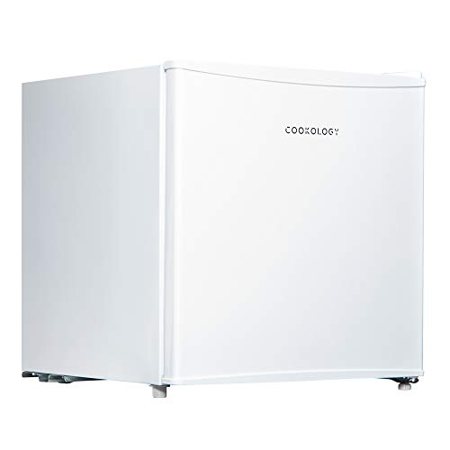 Cookology MFZ32WH Table Top Mini Freezer in White | New Metal Back A+ Rated, 32 Litre, 4 Star Freezer