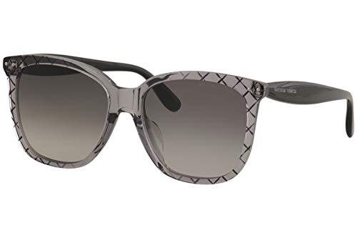 Gafas de Sol Bottega Veneta BV0252SA GREY/GREY SHADED 55/17/145 mujer