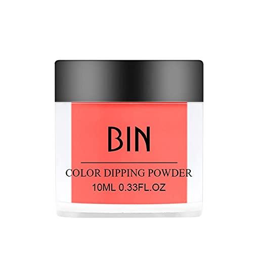 Uñas de pigmento de neón del arte del clavo pulverizan el polvo fluorescente que brilla intensamente (B)
