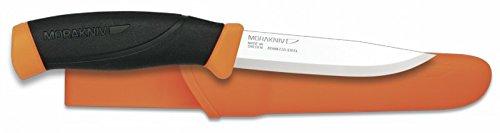 Couteau « Morakniv » ABS. Couleur : orange. Lame : 10,3 cm.
