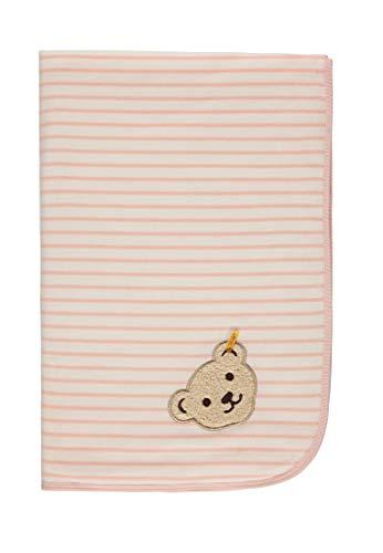 Steiff Unisex Baby Decke Nicky Schlafsack, Rosa (Lotus|Rose 2069), One Size (Herstellergröße: 00)