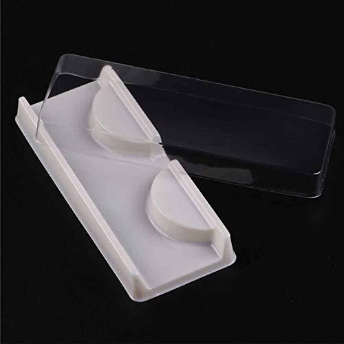 25 pcs Vide Faux Cils Boîte De Cas De Stockage De Soins, Portable Cils Cas en Plastique Faux Cils Organisateur Cas Cosmétique Maquillage Boîte De Rangement