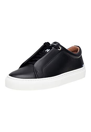 SHOEPASSION - No. 24 WS - Sneaker - Sportiver Freizeitschuh für Damen aus portugiesischem Kalbsleder mit markantem Marken-Emblem und Leichter Gummischalensohle.