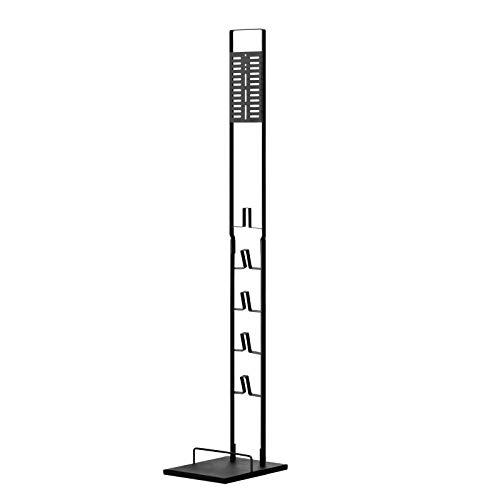 ホビナビ 自立式 掃除機スタンド (ブラック)