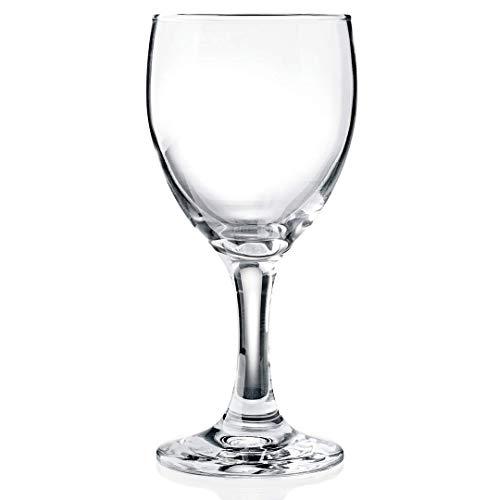 Gastro Spirit - 6-er Set große Rotwein-Gläser - 0,3 Liter, geeicht, spülmaschinenfest, robust - Verschiedene Setgrößen erhältlich (6, 12, 18, 24, 30, 36 STK.), Serie Adalia