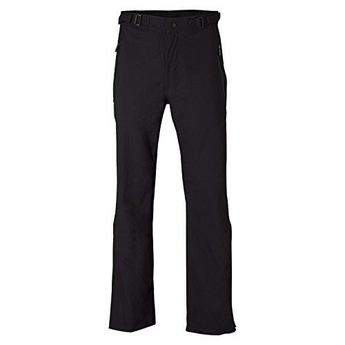 Wilson Regenanzug Hose für Golfer, FG Tour Performance Trousers, Nylon, schwarz, Gr. L, WGA700335