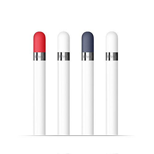 FRTMA Compatible Apple Pencil Cap Replacement (Pack of 4)