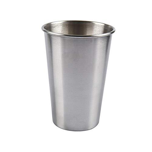 Bicchiere da birra per vino Tazza da caffè in acciaio inossidabile Bicchiere da birra in metallo Bicchiere da acqua per latte per bar Home Wine Party Multi-size Kitchen Drinkware - a6,320ml