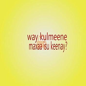 Way Kulmeene Maxaa Isu Keenay?