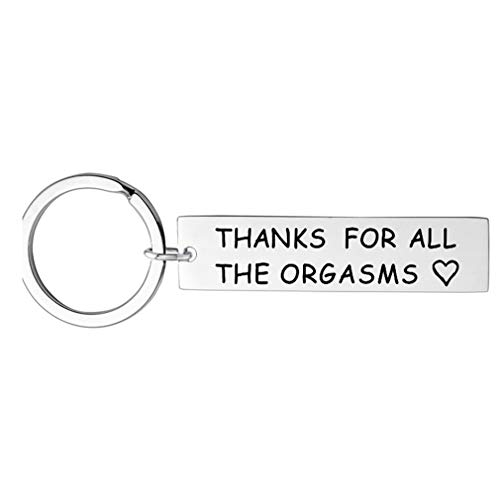 lehao397 Thanks for All The Orgasms -Key Chain Jewelry Gifts for Husband Boyfriend Funny Jewelry
