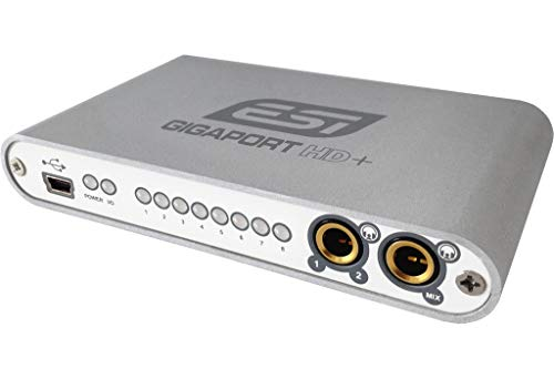 ESI Gigaport HD+ - Interfaz de audio 7.1 USB (8 canales)