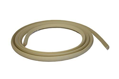 Flexible Moulding - Stain Grade Oak - Flexible Quarter Round Moulding - WM105 - 3/4' X 3/4' - 12' Length - Flexible Trim