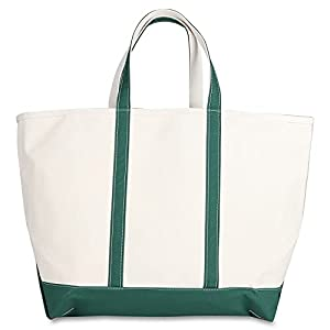 LLBEAN BOAT AND TOTE ZIP TOP EXTRA LARGE エルエルビーン トートバッグ キャンバス ファスナー付き メン...