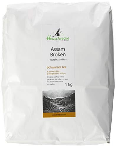 Heuschrecke Bio Tee Assam GFBOP broken , 1er Pack (1 x 1 kg)
