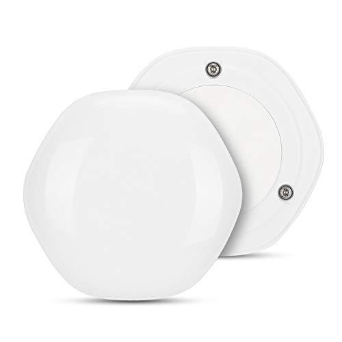 Sensor de Agua WiFi Sensor de Alarma de Agua a Prueba de Agua Detector de Fugas de Agua WiFi Sensor de inmersión en Agua de 0,5 mm para el hogar/sótano, batería Recargable