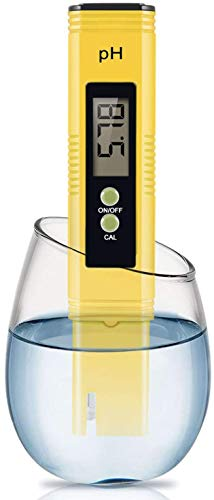 Digital PH Meter, PH Meter 0.01 High-Precision Pocket Water Quality Tester, PH Range 0-14, Suitable for Accurate Testing of Drinking Water, Aquariums, Swimming Pools, Hydroponics