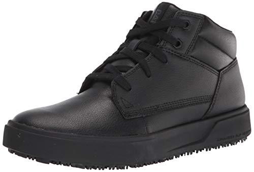 Caterpillar Men's ProRush SR+ Chukka Food Service Shoe, Black, 10.5 Wide