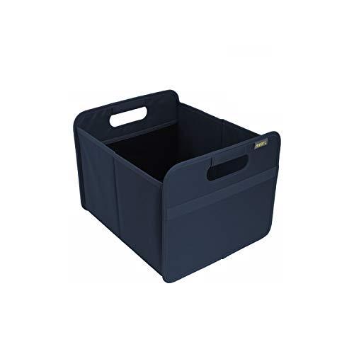 Opvouwbare opvouwbare box voor thuis, voor kantoor of onderweg. effen Box Medium Marine blauw/eenkleurig