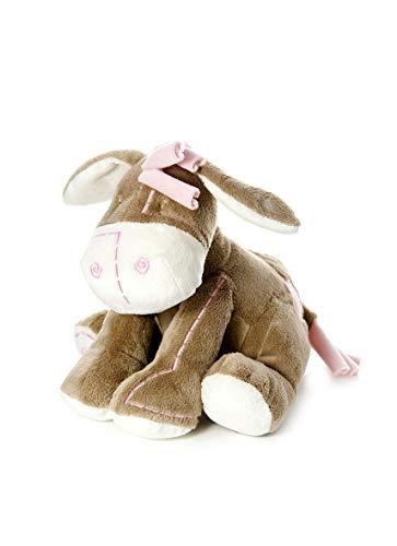 Mousehouse Gifts Giocattoli di pezza Adorabile Asinello Pupazzo di Peluche Rosa Regalo per Bambine o Neonate