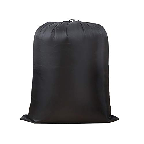 IWEIK - Bolsa de almacenamiento multiusos extra grande resistente al agua (109 x 139 cm), color negro