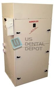 #103 HANDLER - Dust Collector with Cotton Cloth Filter Bag - 3HP [H# 1 103503 Us Dental Depot