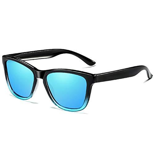 Gafas de Sol Deportivas de Hombre Azul, Gafas Anti UV De Computadora Antifatiga De Lentes, , Gafas Anti UV, Gafas para Ordenador Anti Luz Azul, Gafas para PC, Móvil, TV, Tablet, Gafas para Mujer y Hombres