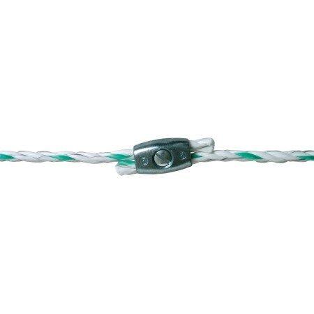 Kerbl 441560/056 Seil- und Litzenverbinder für Seil bis Ø 6.5mm, 5 Stück