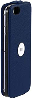 Just Mobile SpinCase Genuine Leather Flip Folio Stand Case iPhone 6 - Retail Packaging - Blue [並行輸入品]