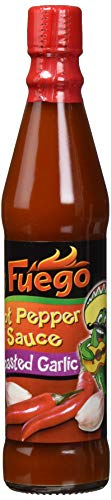 Fuego Hot Pepper Roasted Garlic Sauce, 12er Pack (12 x 85 ml)