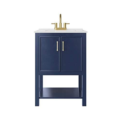 Jacuzzi Duncan Brushed Bronze 2-Handle 4-in Centerset WaterSense Bathroom Sink Faucet with Drain