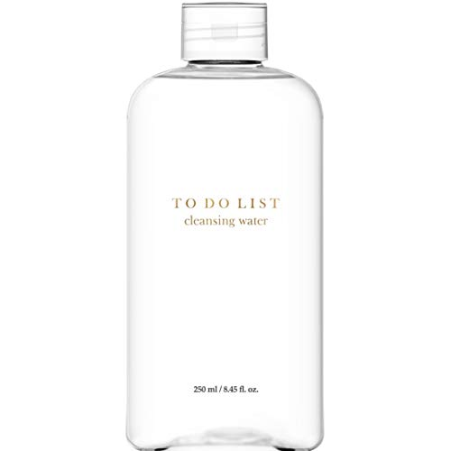 TO DO LIST Cleansing Water | Premium Micellar Water Makeup Remover | 8.45 Fl. Oz. | Korean Skin Care for All Skin Types