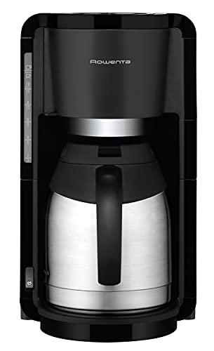Rowenta CT3818 ekspres do kawy z filtrem, Adagio Milano | dzbanek termiczny ze stali nierdzewnej | 10-15 filiżanek | 850 W | czarny / stal nierdzewna