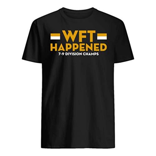 Wäshïngtön Football Team n.f.c East Champions 2020 WFT Happened Shirt