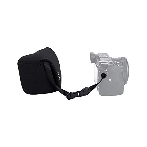 JJC Neoprene Camera Case Protective Sleeve Pouch for Sony ZV-E10 A6000...