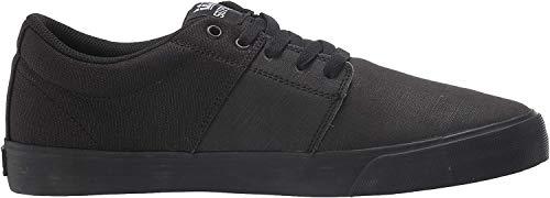 Supra Stacks Vulc II, Zapatillas Unisex Adulto, Negro (Black/Black-Black 001), 38 EU