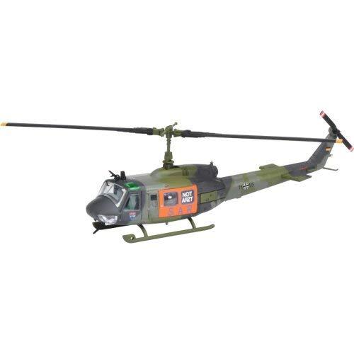 Schuco Bell UH 1D Rettungshubschrauber SAR, Modell 1:87, 14 Jahre, Zink, Kaki