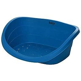 Bunty Armadillo Plastic Heavy Duty Oval Pet Dog Puppy Bed Basket Tough Waterproof