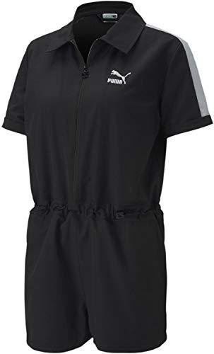 Puma - Damen Classics Woven Jumpsuit, X-Large EU, Puma Black