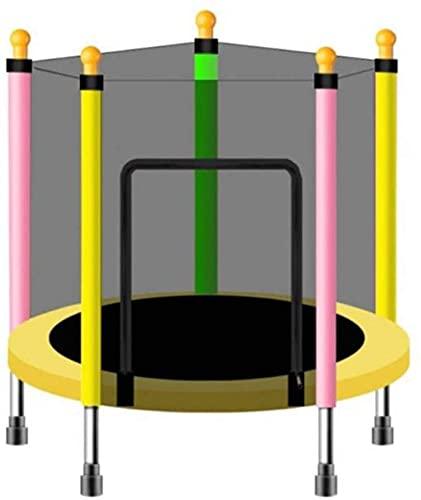 Niños Trampoline Interior Fitness Rebounder Niños Trampolín, Mini Trampoline, Con Red de Caja Estera de Salta y Papelera de Primavera, Educación Juguete Juguete Bebé Juguetes Y Juegos Niños Regalo