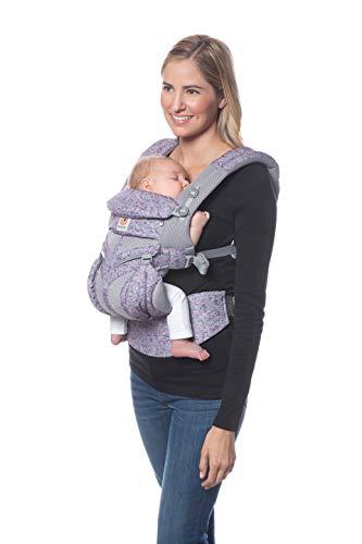 Ergobaby(エルゴベビー) ERGO Baby エルゴベビー (Ergobaby) 抱っこひも メッシュ おんぶ 前向き抱き [日本正規品保証付] (洗濯機で洗える) ベビーキャリア 成長にフィット オムニ360 クールエア/ピンクデジカモ 0か月~ CREGBCS360PPKDG
